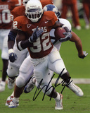 Cedric Benson Texas Longhorns Autographed Photo (Hand Signed Collectable) Photo