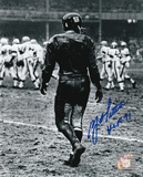 Y.A. Tittle New York Giants with HOF 71 Inscription Autographed Photo (Hand Signed Collectable) Photo
