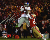 Mario Manningham New York Giants Autographed Photo (Hand Signed Collectable) Photo