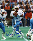 Warren Moon Houston Oilers Autographed Photo (Hand Signed Collectable) Photo