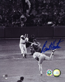 Burt Hooten LA Dodgers Reggie Jackson Home Run Autographed Photo (Hand Signed Collectable) Photo