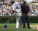 Lou Piniella Chicago Cubs Tirade Autographed Photo (Hand Signed Collectable) Photo