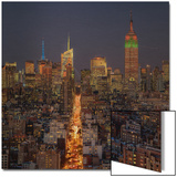 Skyline Metal Print by  Terrible