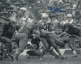 Dan Reeves Dallas Cowboys with SB VI Champs Inscription Photo