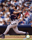 Paul Molitor Minnesota Twins - Hitting Autographed Photo (Hand Signed Collectable) Photo