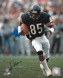 Dennis McKinnon Chicago Bears Autographed Photo (Hand Signed Collectable) Photo