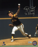 Randy Jones San Diego Padres with 76 NL CY Inscription Photo