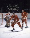 Gordie Howe Detroit Red Wings with Mr. Hockey  Autographed Photo (Hand Signed Collectable) Photo