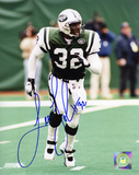Leon Johnson New York Jets Autographed Photo (Hand Signed Collectable) Photo