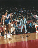Dick Motta Chicago Bulls - Sideline Autographed Photo (Hand Signed Collectable) Photo