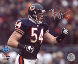 Brian Urlacher Chicago Bears - Fist Pump Autographed Photo (Hand Signed Collectable) Photo