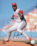 Lee Smith St. Louis Cardinals Autographed Photo (Hand Signed Collectable) Photo