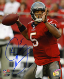 Josh Freeman Tampa Bay Buccaneers Autographed Photo (Hand Signed Collectable) Photo