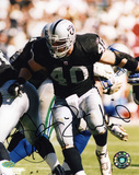 Jon Ritchie Oakland Raiders Autographed Photo (Hand Signed Collectable) Photo