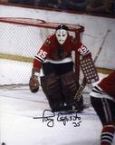 Tony Esposito Chicago Blackhawks Autographed Photo (Hand Signed Collectable) Photo