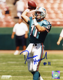Damon Huard Miami Dolphins Autographed Photo (Hand Signed Collectable) Photo