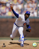"Lee Smith Chicago Cubs with  ""478 Saves"" Inscription Photo"