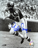 Gale Sayers Chicago Bears Black and White Photo