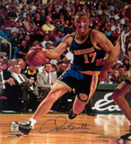 Chris Mullin Drive to Basket Right Handed Vertical Photo