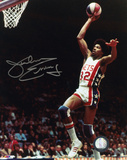 Julius Erving New Jersey Nets Autographed Photo (Hand Signed Collectable) Photo
