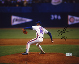 """Dwight """"Doc"""" Gooden New York Mets  Pitching with 85 CY  Autographed Photo (Hand Signed Collectable) Photo"""
