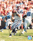 Peyton Manning Indianapolis Colts - Drop Back Photo