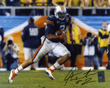 Cam Newton Auburn Tigers Running Autographed Photo (Hand Signed Collectable) Photo
