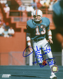 """Jake Scott Miami Dolphins with """"MVP Super Bowl VII """"  Autographed Photo (Hand Signed Collectable) Photographie"""