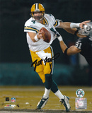 Brett Favre Green Bay Packers - vs. Raiders Autographed Photo (Hand Signed Collectable) Photo