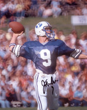 Jim McMahon BYU Cougars Autographed Photo (Hand Signed Collectable) Photo