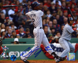 B.J. Upton Tampa Bay Rays 2008 ALCS Game Autographed Photo (Hand Signed Collectable) Photo