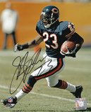 Jerry Azumah Signed - Chicago Bears Action Picture Autographed Photo (Hand Signed Collectable) Photo