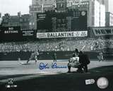 Don Larsen New York Yankees World Series Perfect Game First Pitch Photo
