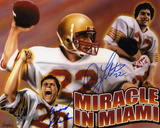 Doug Flutie and Gerald Phelan BC Eagles Collage Autographed Photo (Hand Signed Collectable) Photo