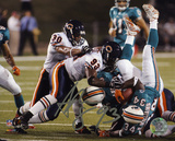 Adewale Ogunleye Chicago Bears Autographed Photo (Hand Signed Collectable) Photo