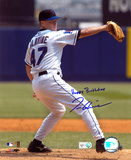 Tom Glavine New York Mets with Happy Brithday  Autographed Photo (Hand Signed Collectable) Photo
