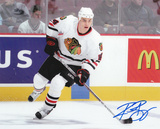 Rene Bourque Chicago Blackhawks Autographed Photo (Hand Signed Collectable) Photo