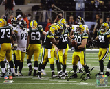 John Kuhn Green Bay Packers Super Bowl XLV Champions Autographed Photo (Hand Signed Collectable) Photo