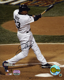 Jermaine Dye Chicago White Sox 2005 World Series Swinging Photo