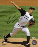 Ubaldo Jimenez Colorado Rockies Autographed Photo (Hand Signed Collectable) Photo