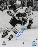 Pierre Pilote Chicago Blackhawks Autographed Photo (Hand Signed Collectable) Photo
