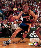 Chris Mullin Drive to Basket Right Handed Vertical Photo Photo