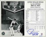 Nolan Ryan No-Hitter Collection w/7 Catchers Autographed Photo (Hand Signed Collectable) Photo