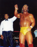 Hulk Hogan With Muhammad Ali Photo
