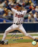 Tom Glavine Atlanta Braves with CY 1991 and 1998  Autographed Photo (Hand Signed Collectable) Photo