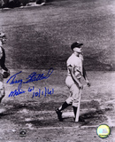 Tracy Stallard Boston Red Sox - Maris' 61st with Maris 61 10-1-61 Inscription Photo