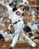 "Geovany Soto Chicago Cubs with Inscription ""ROY 08"" Autographed Photo (Hand Signed Collectable) Photo"