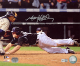Matt Holliday Colorado Rockies - Homeplate Slide Autographed Photo (Hand Signed Collectable) Photo
