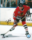 Troy Murray Chicago Blackhawks Autographed Photo (Hand Signed Collectable) Photo
