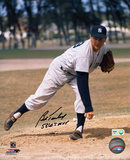 Bob Turley with: 58 WS MVP Inscription Photographie